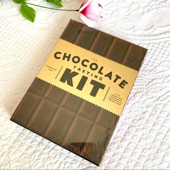 NWT Chocolate Tasting Kit Foodie Gift Book Set NEW